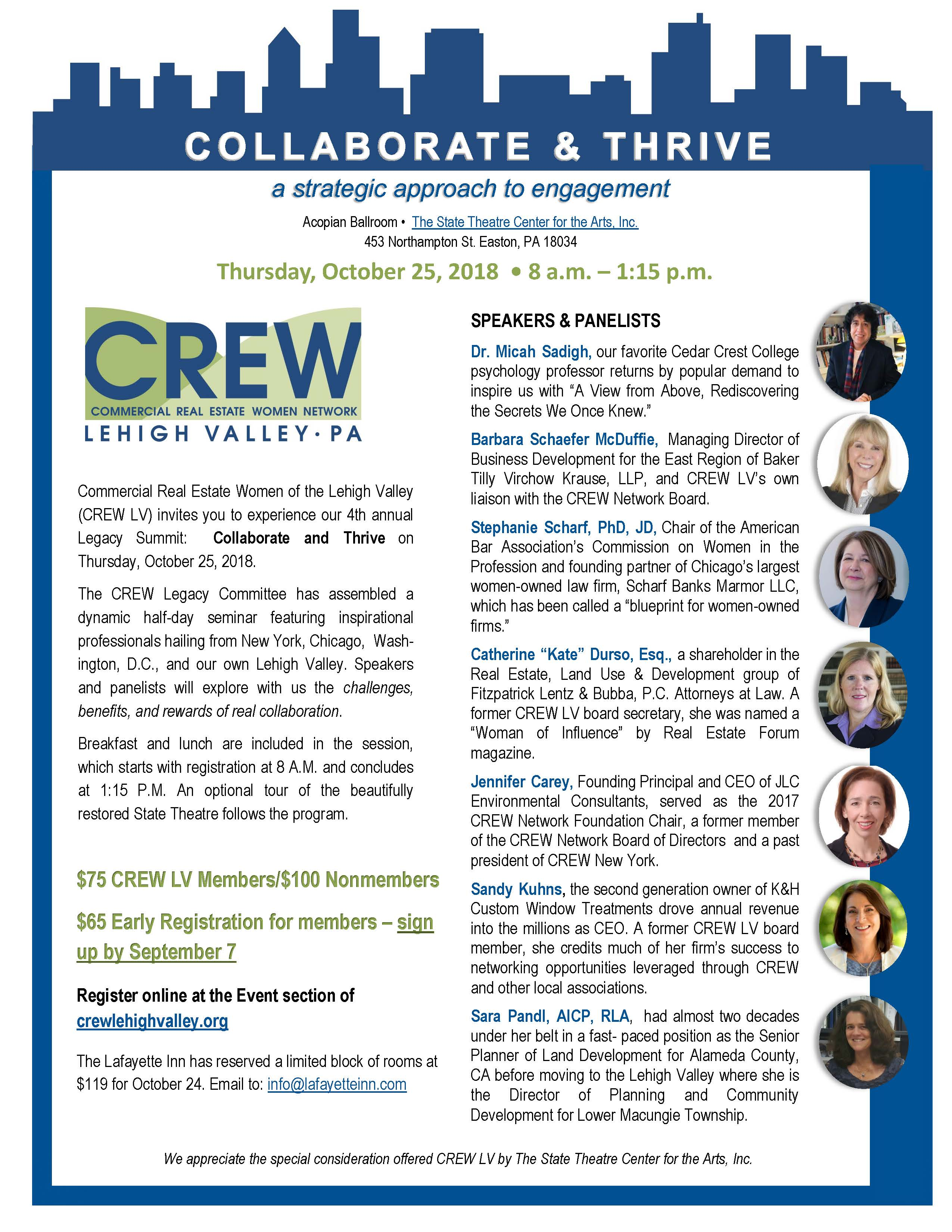 Crew Lehigh Valley 2018 10 25 Annual Legacy Event
